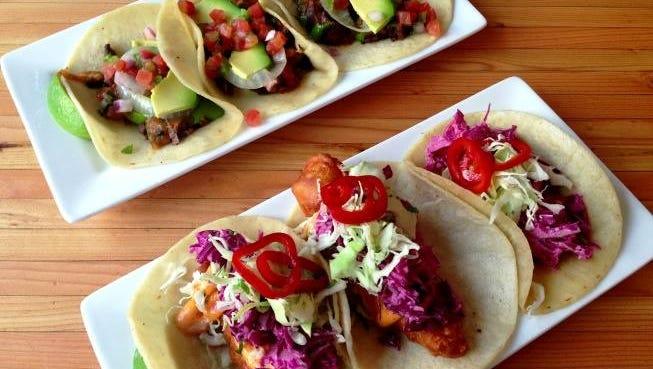 Enjoy the street tacos from Modern Margarita in north Phoenix.
