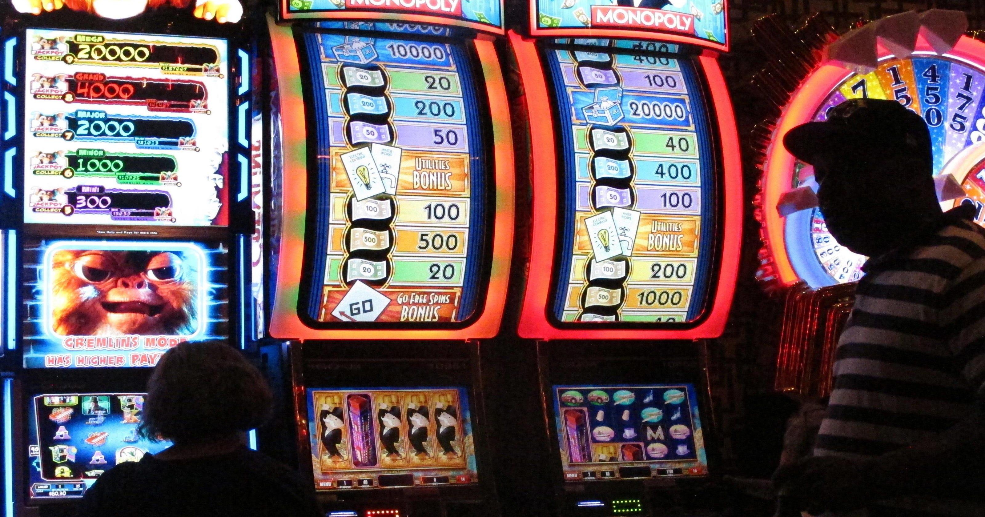 Hacker slot machine bar