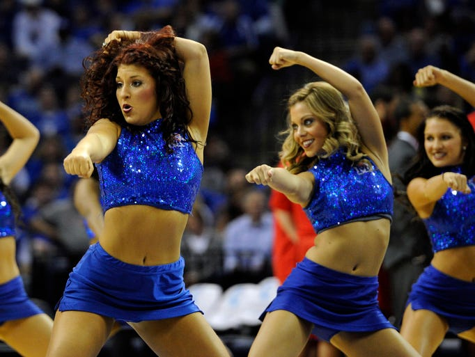 Jim Burke Ford >> NCAA basketball cheerleaders around the country