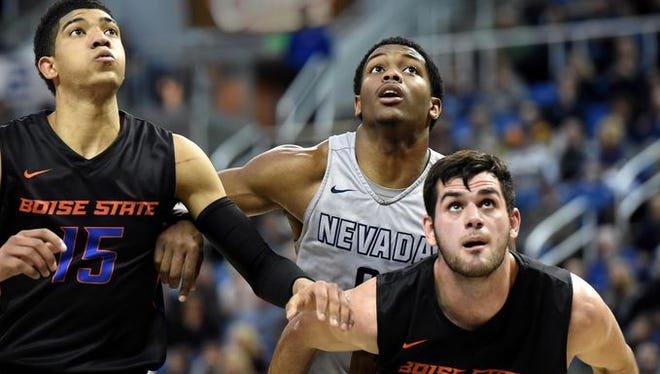 Cameron Oliver and the Wolf Pack will play at UNLV on Saturday.