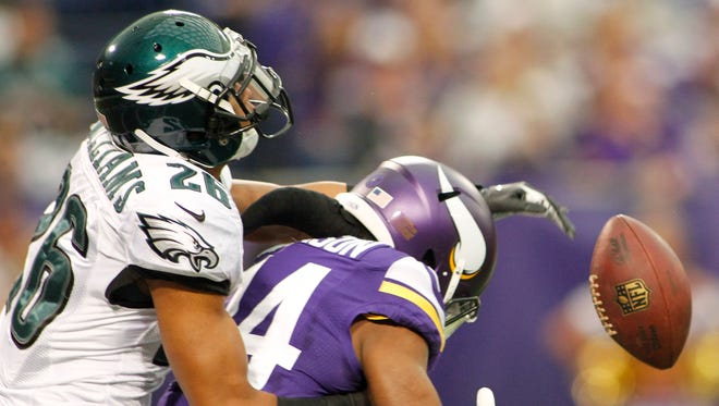 Eagles cornerback Cary Williams, left, knows Philadelphia will be tested by the Bears.