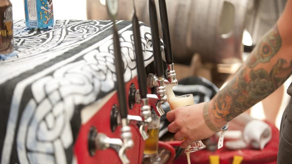 The Waynesville Craft Beer Faire is Aug.  16.