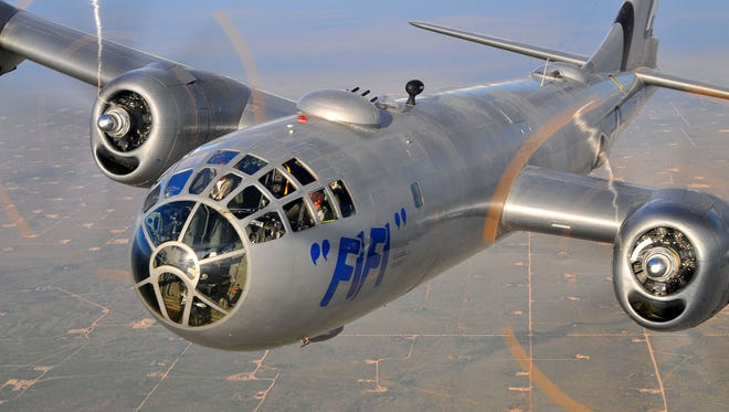 Historic B-29 plane