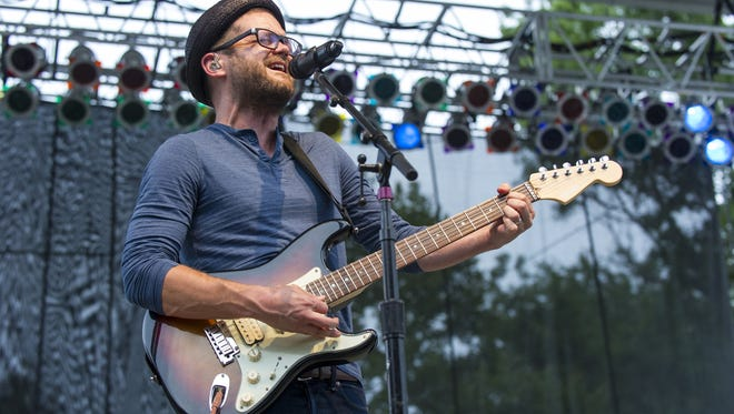 Josh Kaufman performed on the Indiana State Fair Free Stage on Aug. 7.