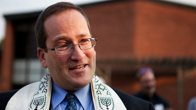 Rabbi Peter Stein's first day as senior rabbi at Temple B'rith Kodesh was July 1.