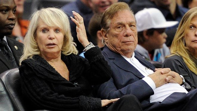 Donald and Shelly Sterling, shown here at a Los Angeles Clippers game in this 2010 photo. On Monday, a California judge ruled that Shelly Sterling acted within the rules of the Sterling Family Trust in having her husband removed as co-trustee, allowing her to act alone in agreeing to sell the Clippers for $2 billion to ex-Microsoft CEO Steve Ballmer. The deal has an Aug. 15 deadline to close, while NBA commissioner Adam Silver has said the league will move to strip the Sterlings of their ownership if the team is not sold by Sept. 15.