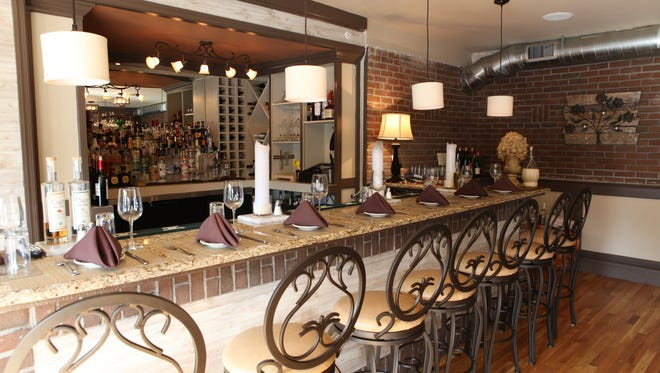 The second floor lounge at Andrea's 25 North in Mamaroneck and photographed Oct. 3, 2013. ( Joe Larese / The Journal News )