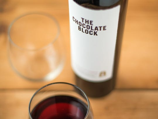 The Chocolate Block is a blend of Syrah, Cabernet Sauvignon and other varieties.