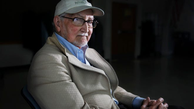 Warren Wightman of Fairport is a World War II veteran who as a foot soldier in Patton's Third Army marched across northern France in the days just after Normandy.