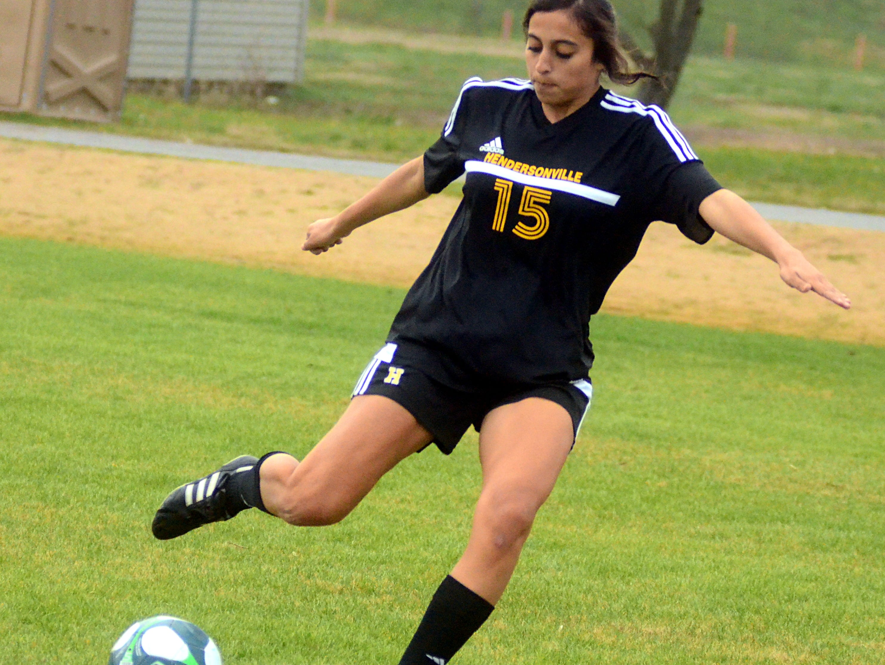 Reigning All-County Defensive Player of the Year Claire Almaraz returns for her senior season with Hendersonville.