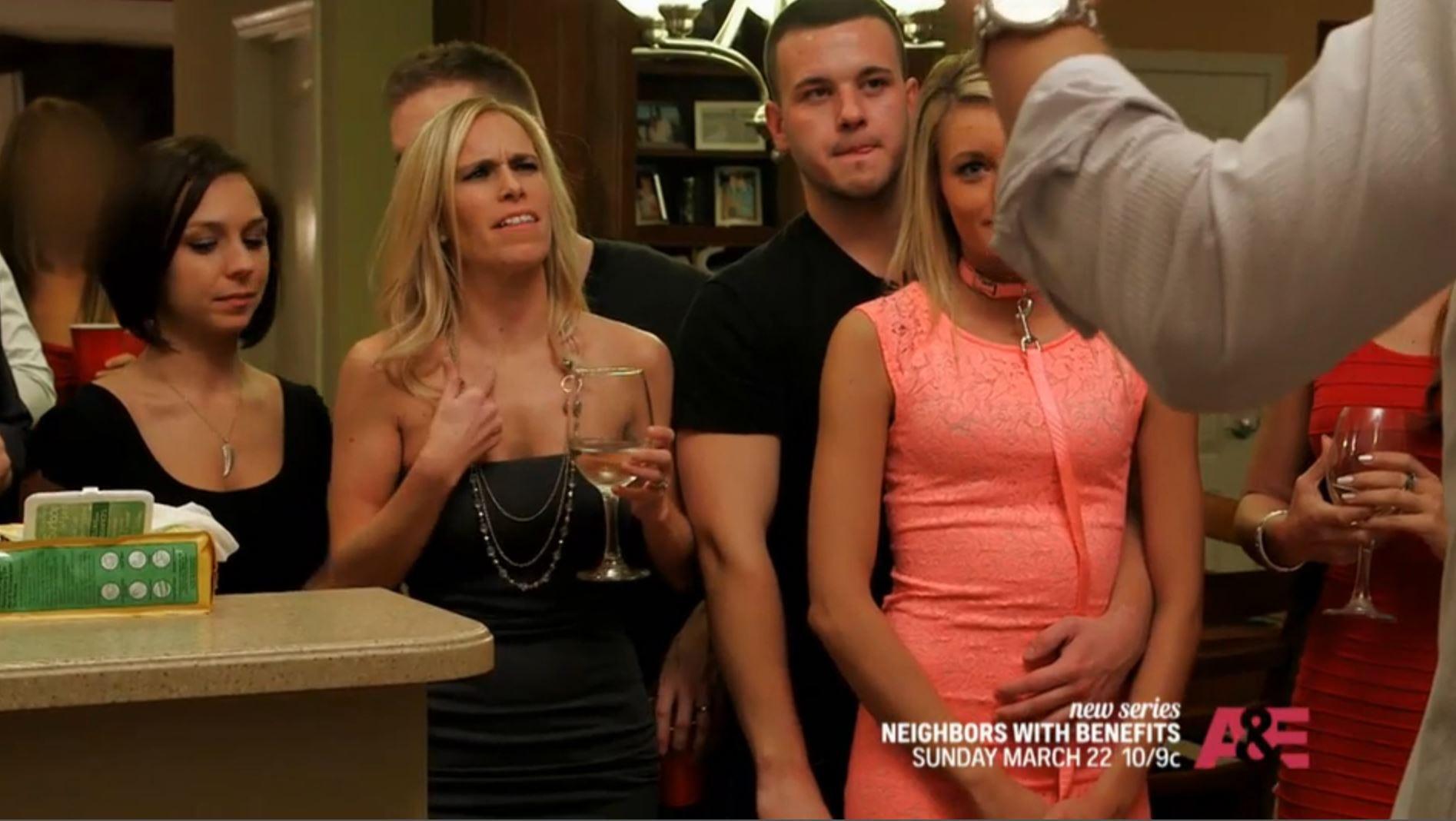 Women spunk teasing