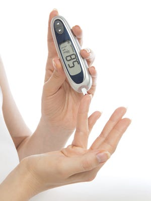 Federal health statistics show that 12.3% of Americans 20 and older have diabetes.