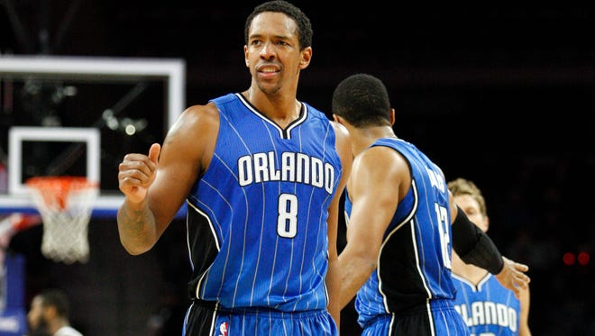 Orlando Magic forward Channing Frye (8) returns to Phoenix to face his former team on Sunday, Nov. 30, 2014.