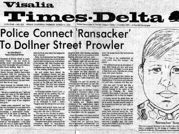 Man was known as East Area Rapist, Golden State Killer