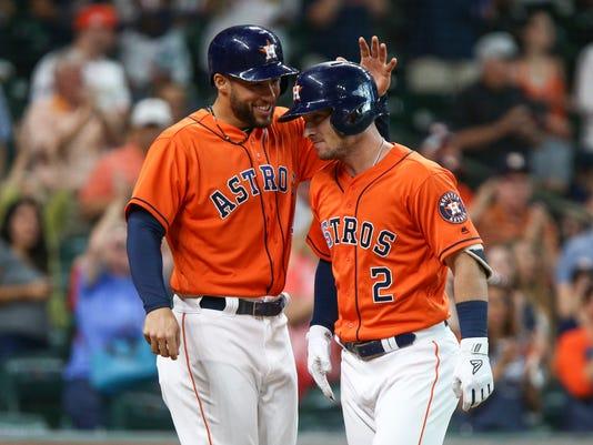 USP MLB: DETROIT TIGERS AT HOUSTON ASTROS S BBA HOU DET USA TX