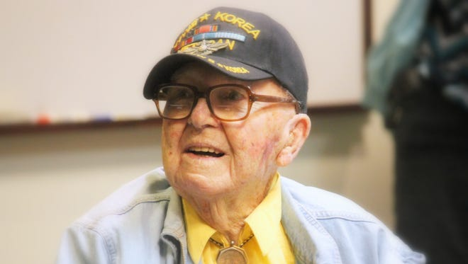 World War II and Korean War veteran Stephen C. DuBois passed away Tuesday morning at 95. DuBois was a lifelong active member of the Democratic Party and was a community leader, organizer, volunteer, and a World War II and Korean War veteran.