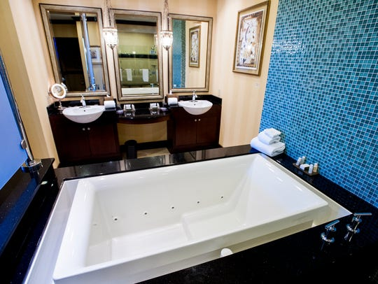 The Presidential Suite at the Renaissance Hotel and