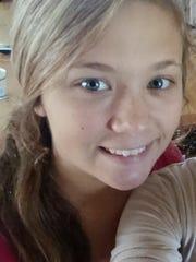 Ashley Faith Suiter, 16, was last seen on Tuesday,