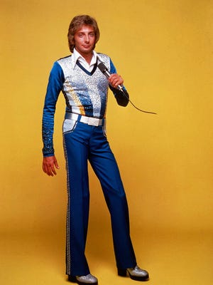 Barry Manilow in the '70s.