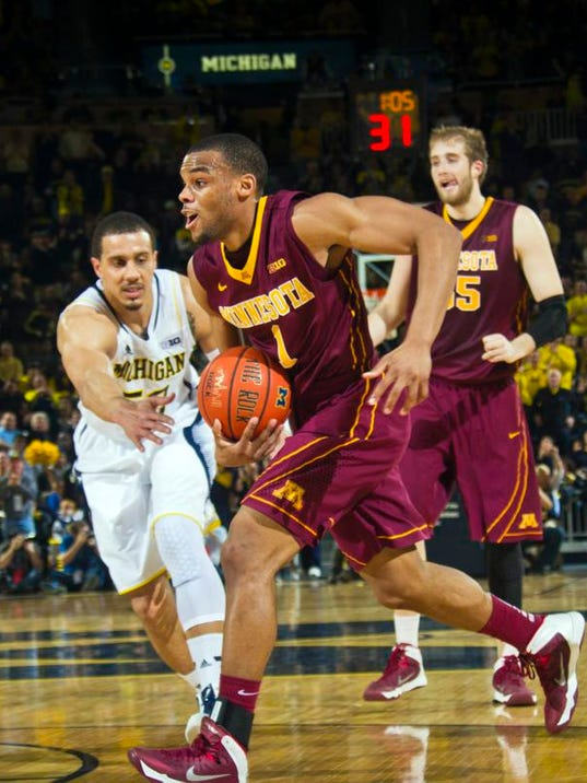 Gophers basketball: Andre Hollins aims to follow ...