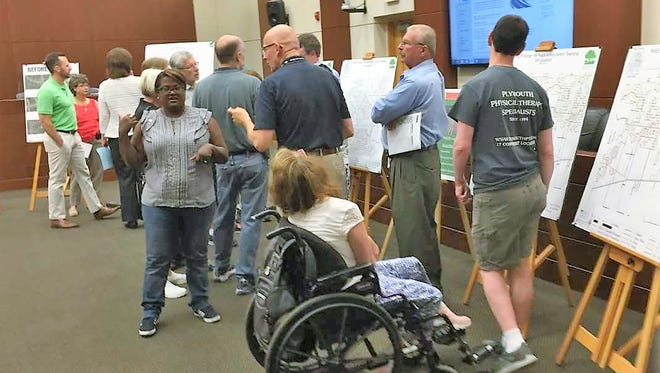 Canton Township officials held three public forums, giving residents opportunities to ask questions about the township's roads millage proposal.