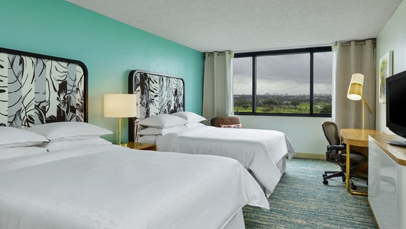 The Sheraton Miami Airport Hotel just underwent a $10