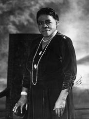 Mary McLeod Bethune, approximately 1943.