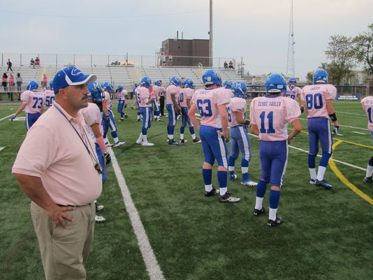 Middletown pink football