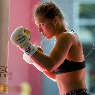 Ronda Rousey through the years