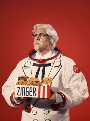 Actor Rob Lowe is the new KFC colonel.