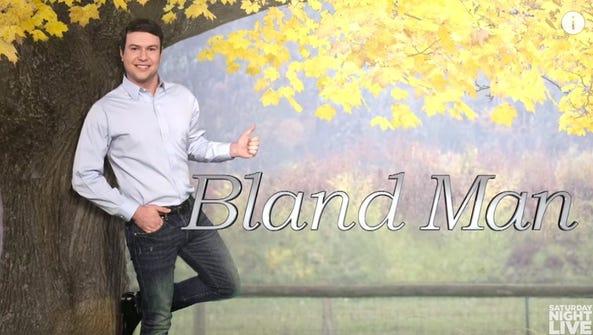 Taran Killam is 'Bland Man.'