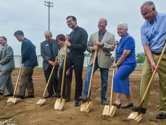 St. Thomas More Catholic High School holds a groundbreaking