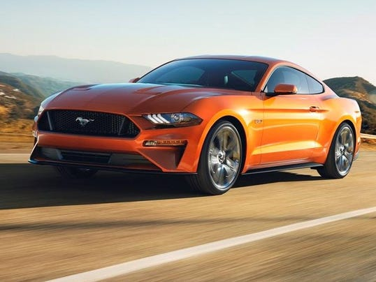 2018 Mustang GT can go 0-60 in under 4 seconds with new 10-speed automat...