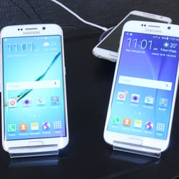 First look: Up close with Samsung's new Galaxy S 6 and Galaxy S 6 Edge