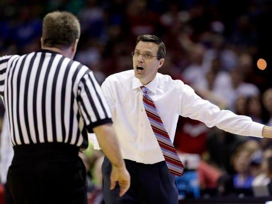 NCAA Nebraska Baylor Basketball