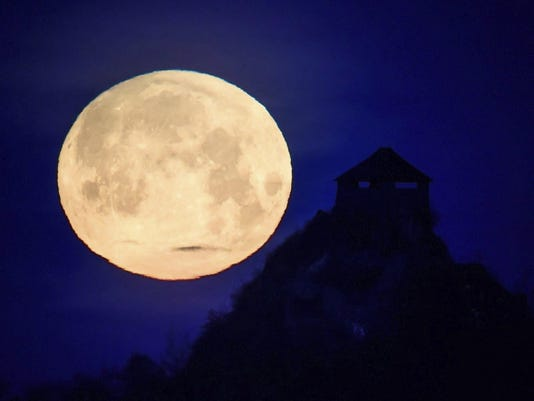 Hungary Full Moon