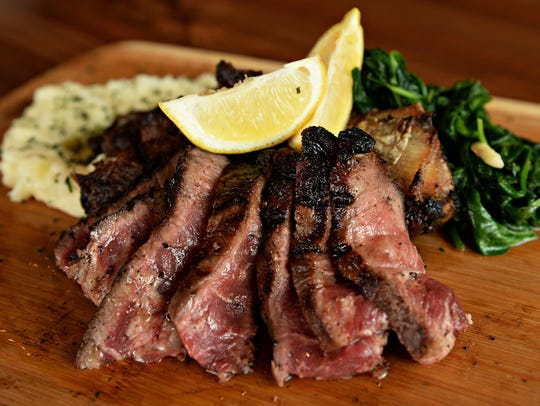 Rare Italian specializes in beef that is dry aged and
