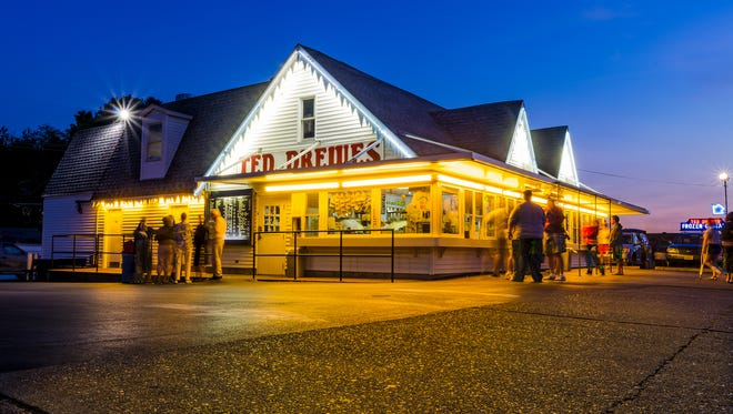 No trip down Route 66 through St. Louis is complete without a stop at Ted Drewes Frozen Custard.