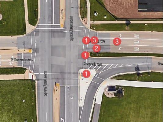 Fox Valley Metro police crash diagram