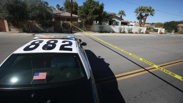 A home intruder was fatally shot at a Bermuda Dunes home early Saturday, investigators said.