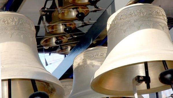 Bells in the Mobile Millennium Carillon
