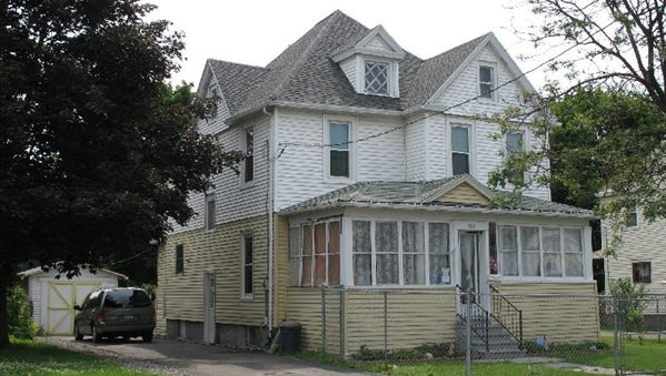 This property at 194 West End Ave. in Binghamton recently sold for $40,200.
