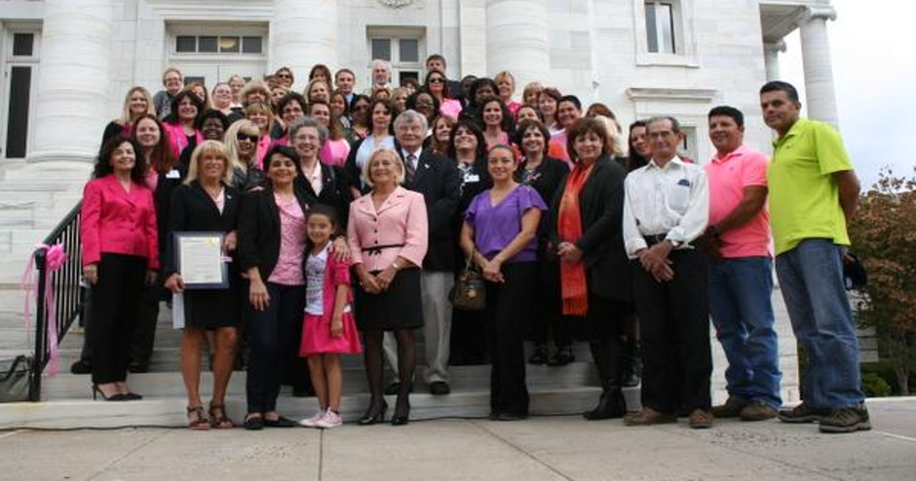 October Activities Center On Breast Cancer Awareness In Central Jersey