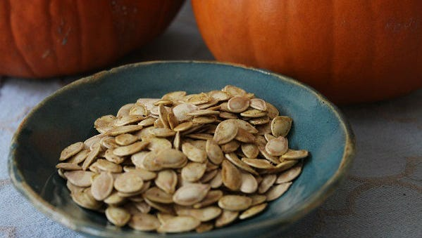 Curry Pumpkin Seeds.
