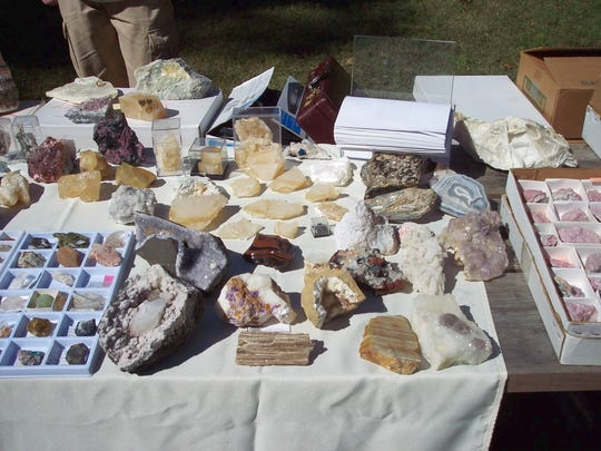 Find new and interesting rocks and gems on Saturday and Sunday at the Morris Museum's rock weekend.