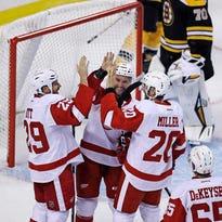 Red Wings 5, Bruins 1