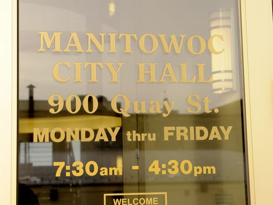 Manitowoc City Hall building.