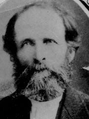 Jonathan Leighton, early Sheboygan County pioneer, who arrived in Sheboygan Falls in 1844. He placed the first chair order from craftsman, Darius Leavens in 1848.