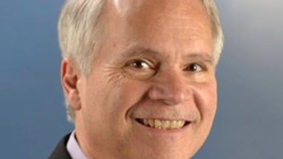 Todd Becker, one of the Pedersen Medal winners.