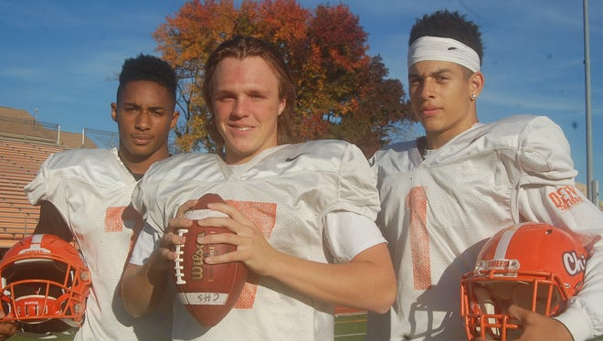 John Lovett, Jake Bodine and Mike Bowers have had successful senior seasons for Cherokee. The trio will help lead the Chiefs in Friday's S.J. Group 5 first-round playoff game against Millville.